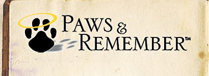 Paws and Remember Logo