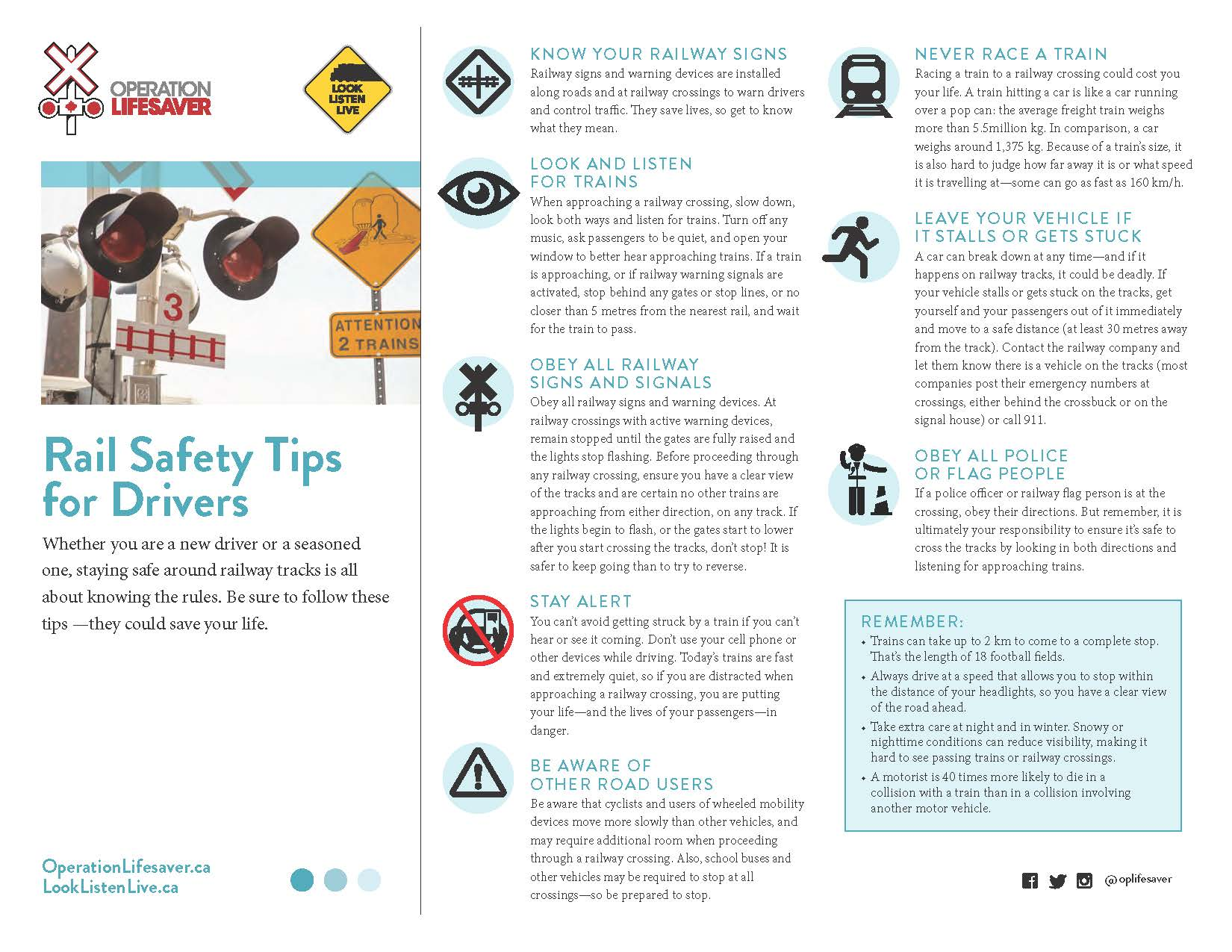 Rail Safety Drivers