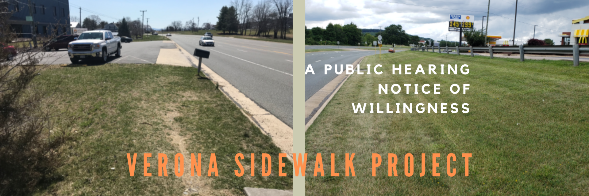 Verona Sidewalk Project Plans Released for Public Input