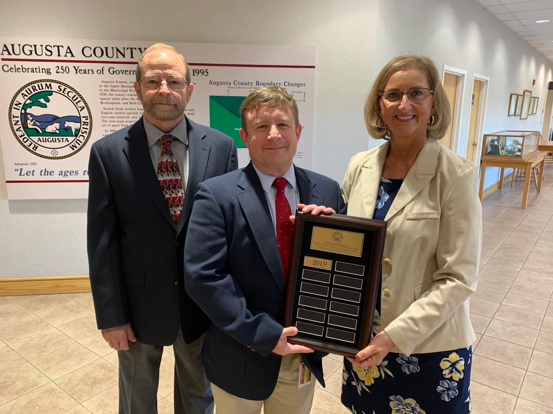 Commissioner of the Revenue Office honored with accredited status from Association