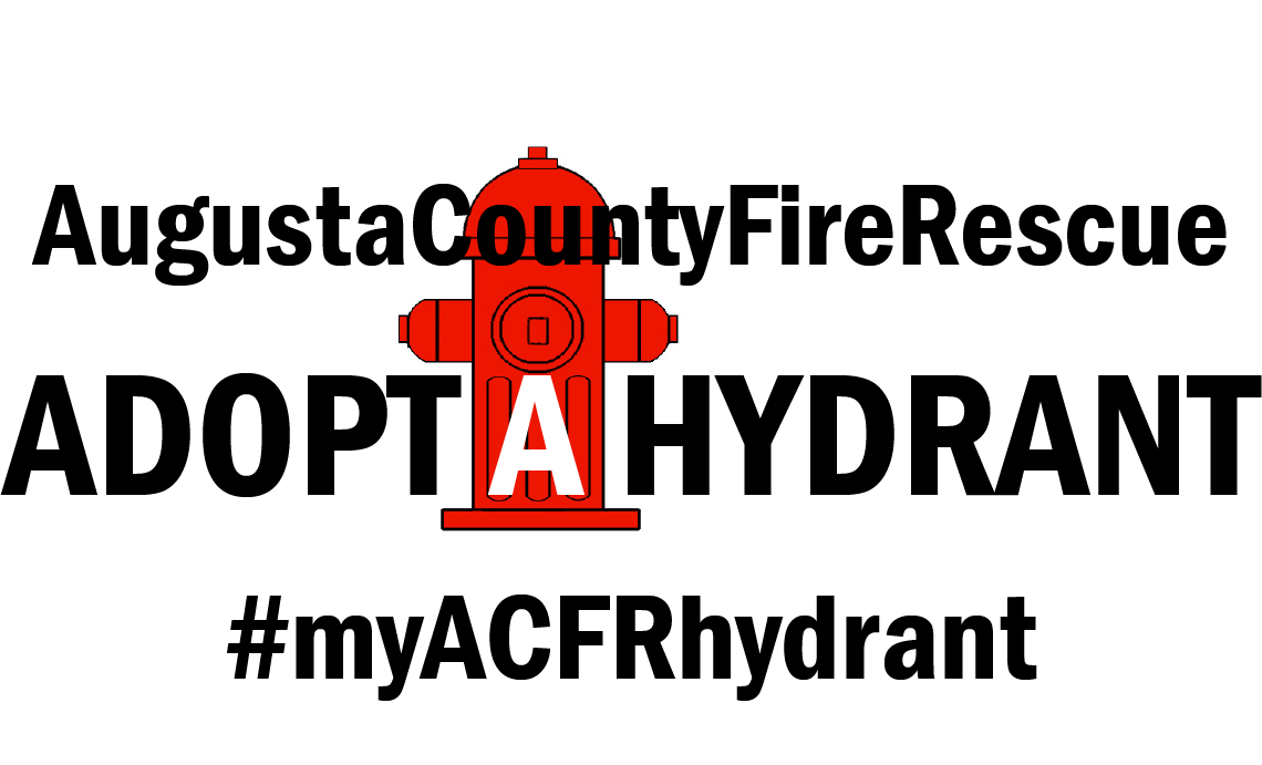 Augusta County Fire-Rescue Asks Citizens to ADOPT-A-HYDRANT