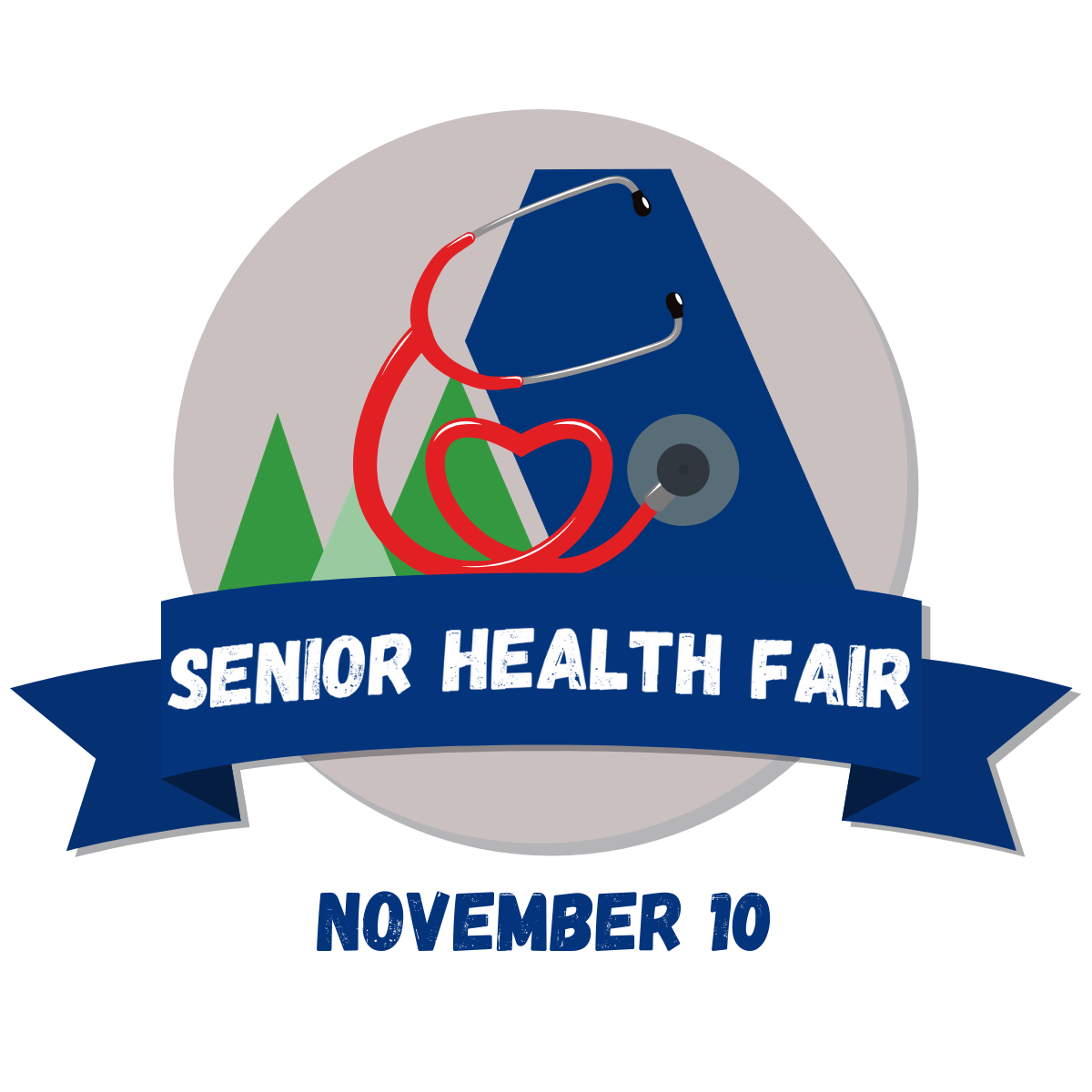 Senior Health Fair Logo