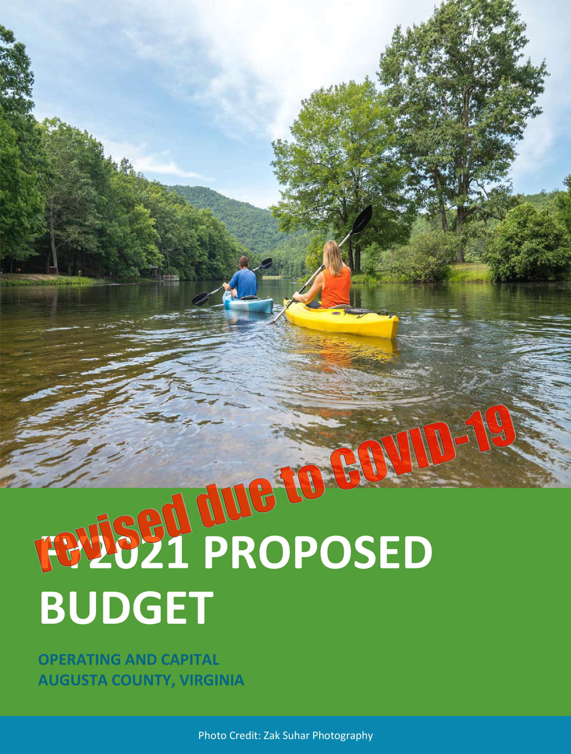 FY2021Budget cover COVID
