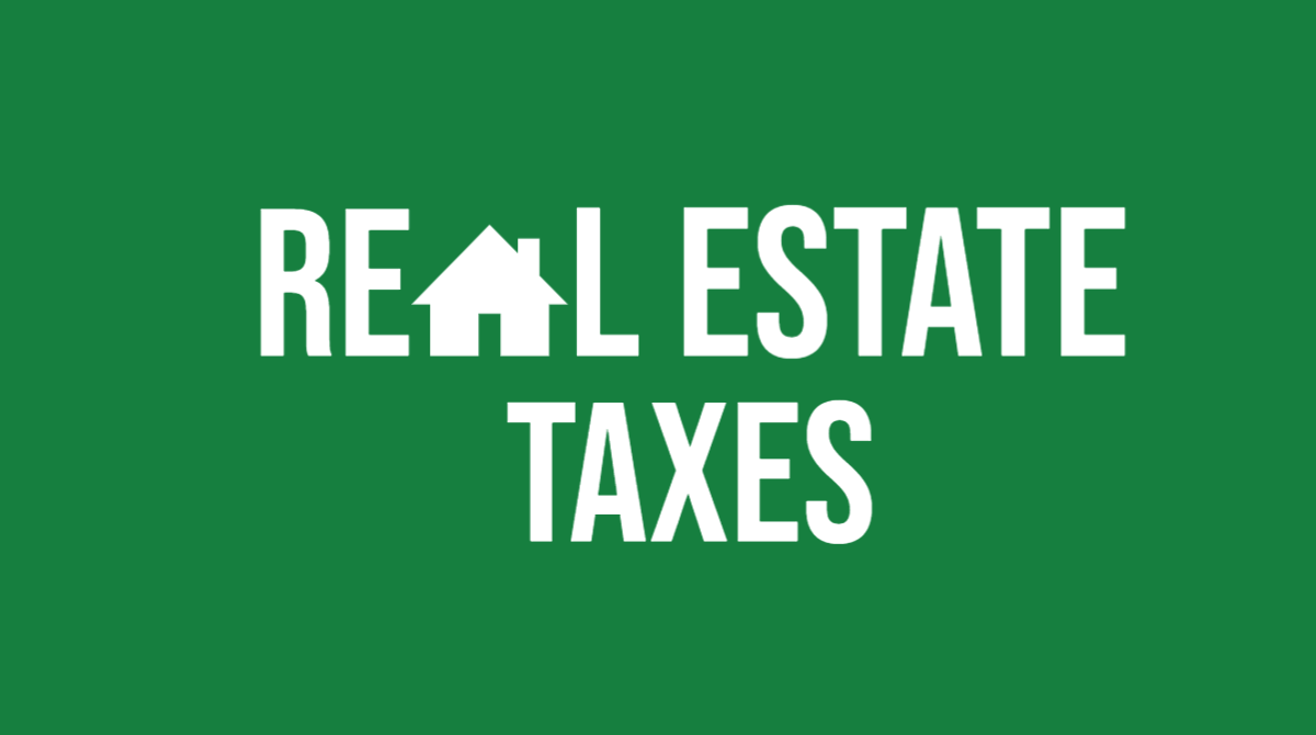 FAQs:  Real Estate Taxes 2020