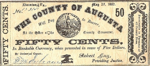 County Note 1862