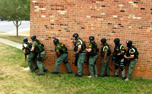 Swat in action 1
